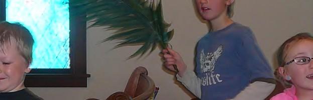 Knife River Palm Sunday
