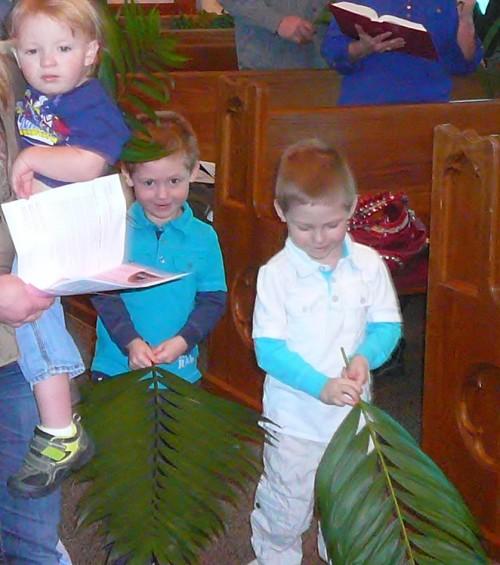 Palm Sunday Twins
